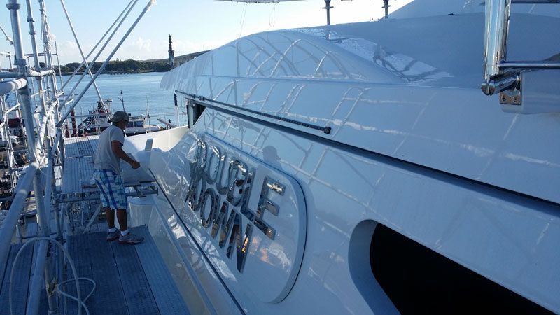 Yacht Painting And Refinishing Taylor Lane Yacht And Ship